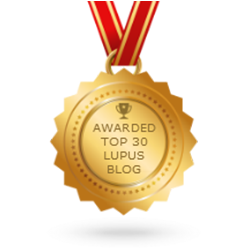 Awarded Top 30 Lupus Blog